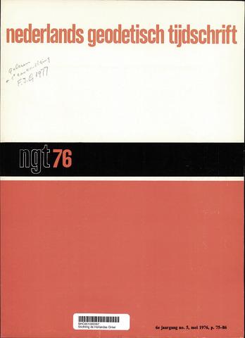 Nederlands Geodetisch Tijdschrift (NGT) 1976-05-01