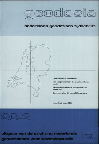 (NGT) Geodesia 1986-03-01