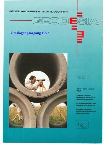 (NGT) Geodesia 1992-12-31