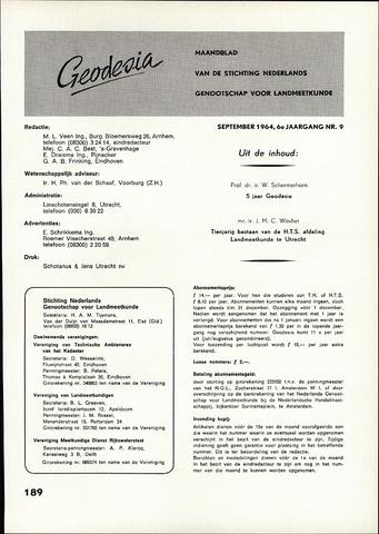 (NGT) Geodesia 1964-09-01