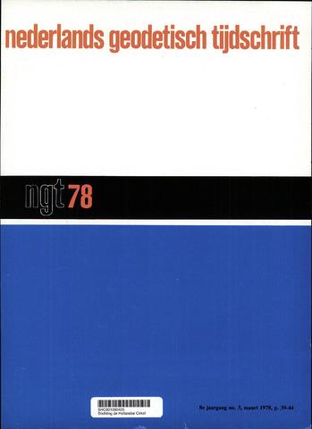 Nederlands Geodetisch Tijdschrift (NGT) 1978-03-01