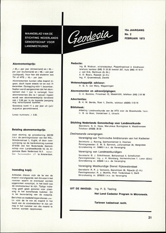 (NGT) Geodesia 1973-02-01