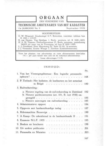 Orgaan der Vereeniging TAK 1955-09-01