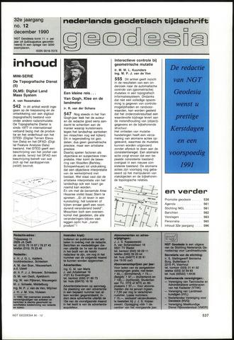 (NGT) Geodesia 1990-12-01