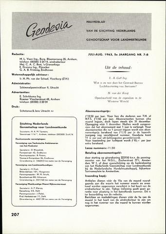 (NGT) Geodesia 1963-07-01