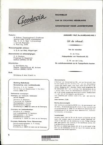 (NGT) Geodesia 1967-01-01