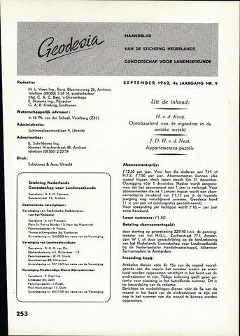 (NGT) Geodesia 1962-09-01