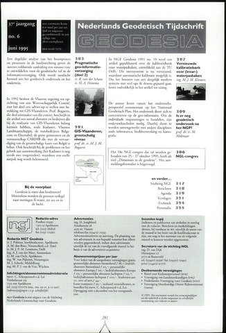 (NGT) Geodesia 1995-06-01