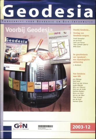 (NGT) Geodesia 2003-12-01