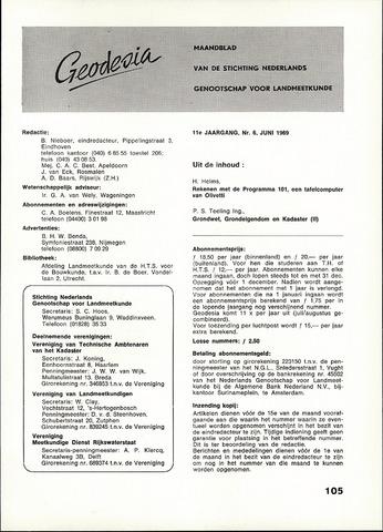 (NGT) Geodesia 1969-06-01