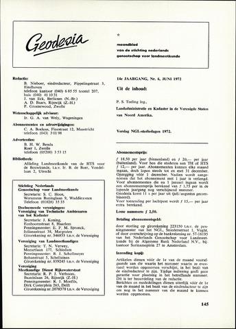 (NGT) Geodesia 1972-06-01
