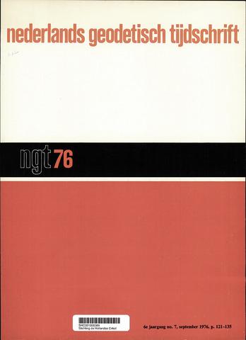 Nederlands Geodetisch Tijdschrift (NGT) 1976-09-01