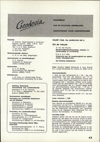 (NGT) Geodesia 1968-03-01
