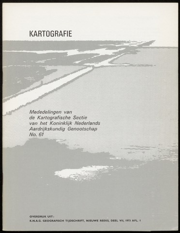 Kartografie 1973