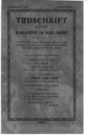 Tijdschrift voor het Kadaster in Ned.-Indië 1932-10-01