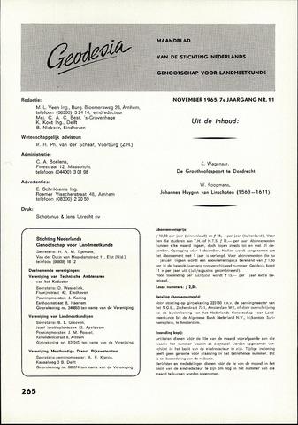 (NGT) Geodesia 1965-11-01