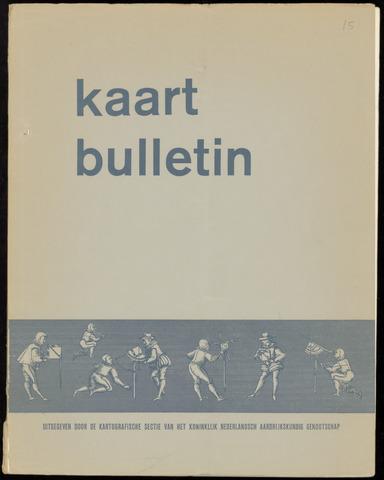 Kaartbulletin 1967-12-01