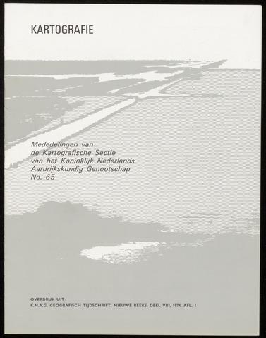Kartografie 1974