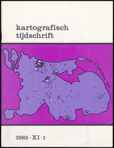 Kartografisch Tijdschrift 1985