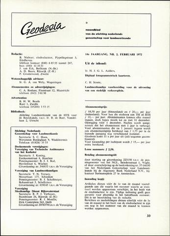 (NGT) Geodesia 1972-02-01