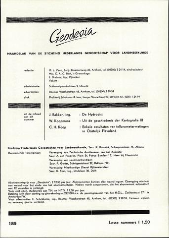 (NGT) Geodesia 1960-10-01
