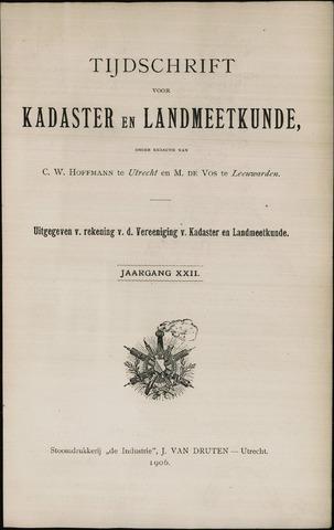 Tijdschrift voor Kadaster en Landmeetkunde (KenL) 1906