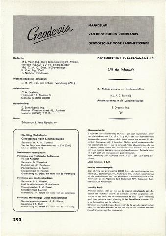 (NGT) Geodesia 1965-12-01