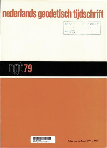 Nederlands Geodetisch Tijdschrift (NGT) 1979-05-01