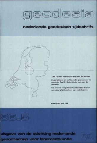 (NGT) Geodesia 1986-05-01