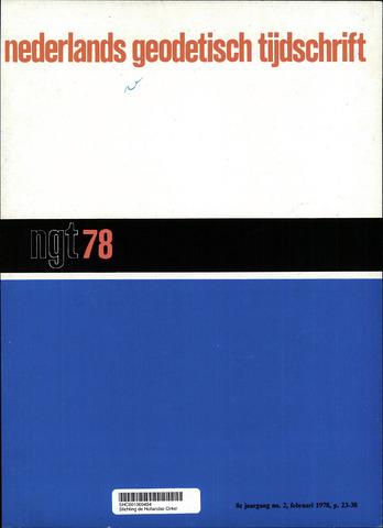 Nederlands Geodetisch Tijdschrift (NGT) 1978-02-01