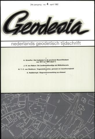 (NGT) Geodesia 1982-04-01