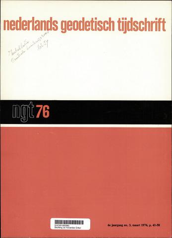Nederlands Geodetisch Tijdschrift (NGT) 1976-03-01