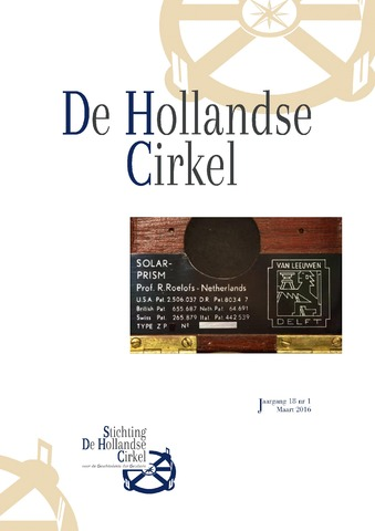 De Hollandse Cirkel (DHC) 2016-03-01