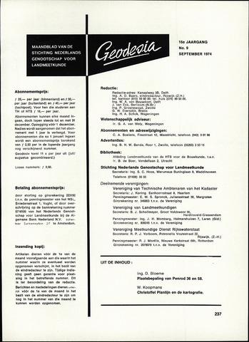 (NGT) Geodesia 1974-09-01