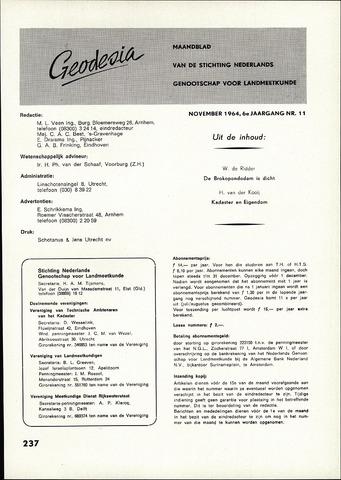 (NGT) Geodesia 1964-11-01