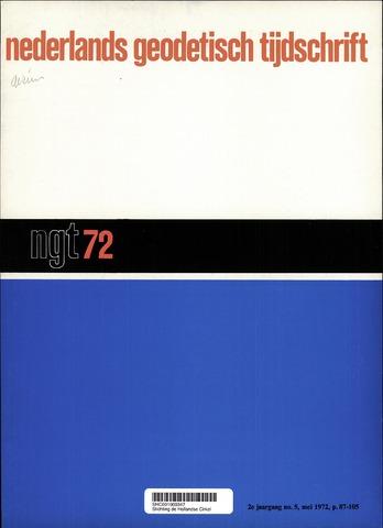 Nederlands Geodetisch Tijdschrift (NGT) 1972-05-01