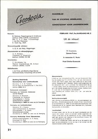 (NGT) Geodesia 1967-02-01