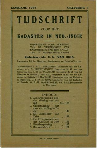 Tijdschrift voor het Kadaster in Ned.-Indië 1937-07-01