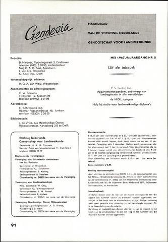(NGT) Geodesia 1967-05-01