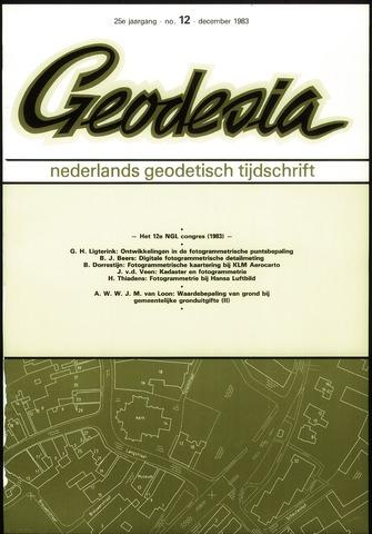 (NGT) Geodesia 1983-12-01