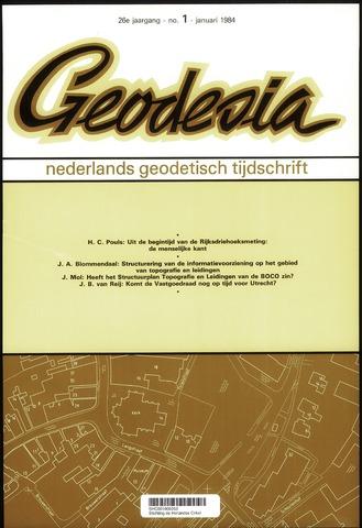 (NGT) Geodesia 1984-01-01