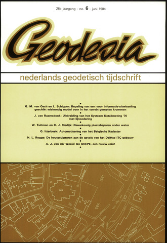 (NGT) Geodesia 1984-06-01