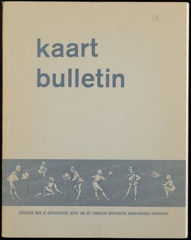 Kaartbulletin 1967