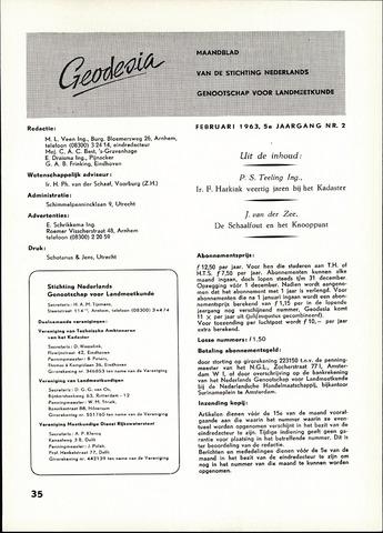 (NGT) Geodesia 1963-02-01