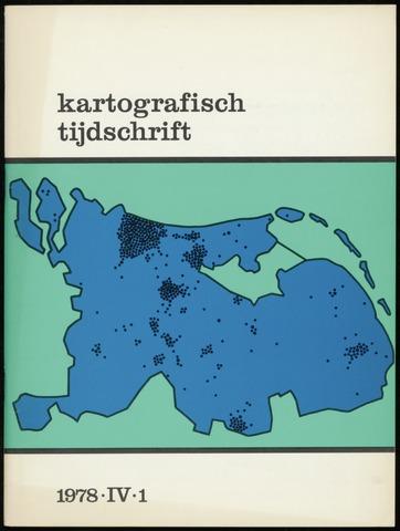 Kartografisch Tijdschrift 1978