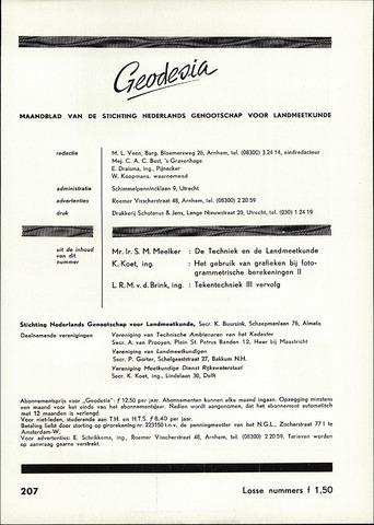 (NGT) Geodesia 1960-11-01