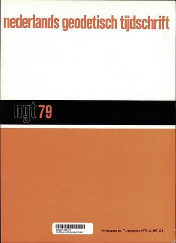 Nederlands Geodetisch Tijdschrift (NGT) 1979-09-01