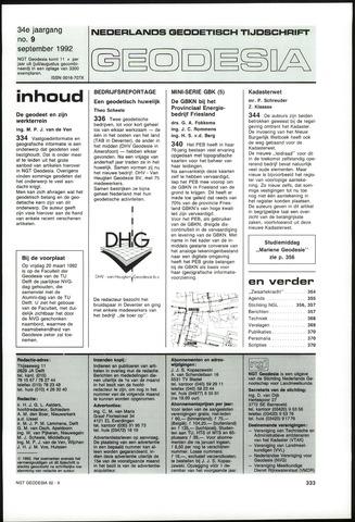 (NGT) Geodesia 1992-09-01