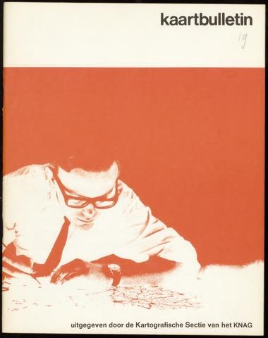 Kaartbulletin 1969