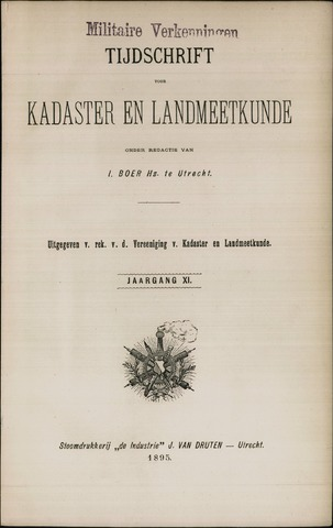 Tijdschrift voor Kadaster en Landmeetkunde (KenL) 1895-01-01